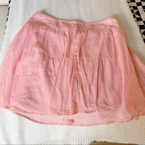 J.Crew high waist flutter skirt